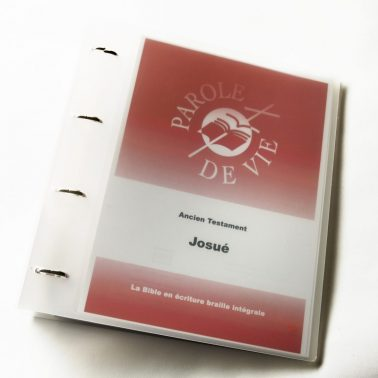 Parole de Vie bible book in Spanish in plastic binder